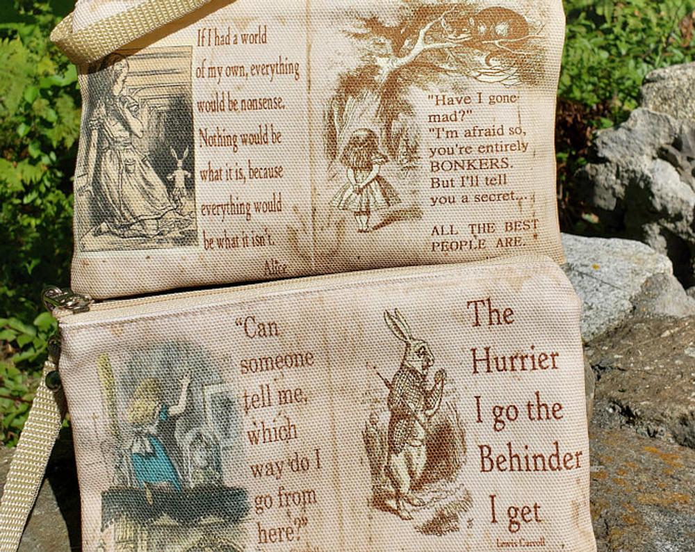 Alice in Wonderland - Wristlet