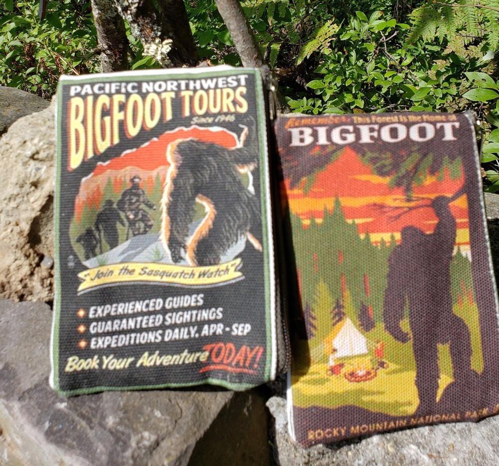 Bigfoot Themed - Coin Purse