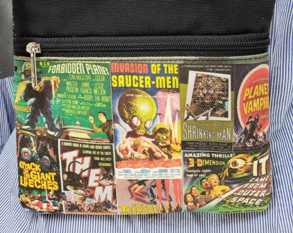 Vintage B Movies - Travel/Casino Bag