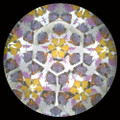 Large Butterfly Wheel Kaleidoscope