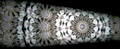 Parlor Kaleidoscope in White and Gold
