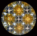 Handheld Kaleidoscope in Black and Gold