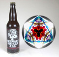 Arrogant Bastard Ale Bottle Kaleidoscope
