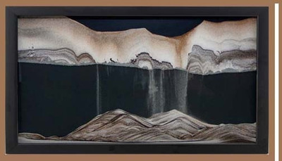 Sand Art Medium Wall Mount