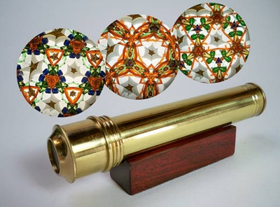 Mini Escape Brass Kaleidoscope
