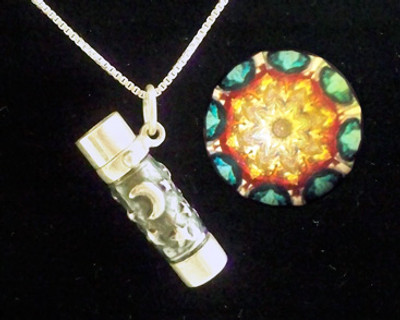 Moon & Stars Necklace Kaleidoscope