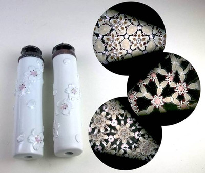Small Ceramic Cherry Blossom Kaleidoscope