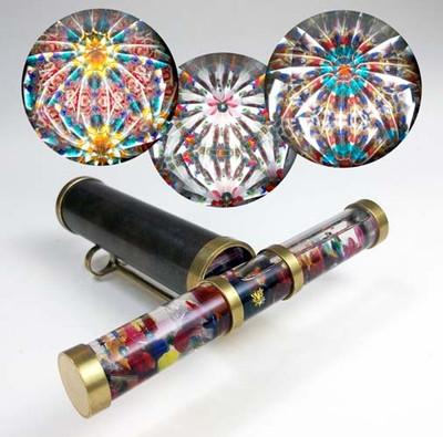 Short Brass Wand Kaleidoscope