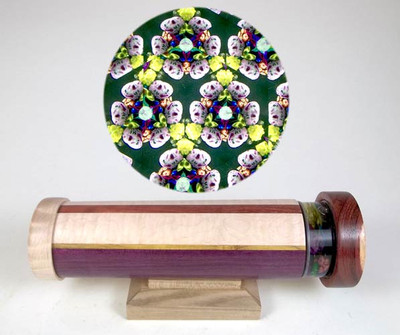 Inlaid Wooden Kaleidoscope