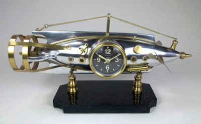 Nautilus Table Clock