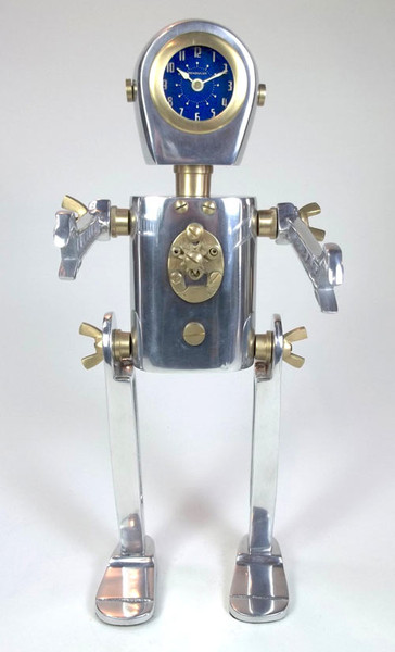 Karl the Robot Table Clock