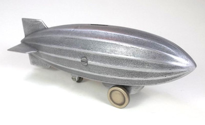 Dirigible Airship Coin Bank