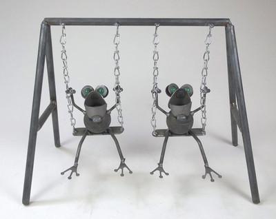 Frogs on a Swing