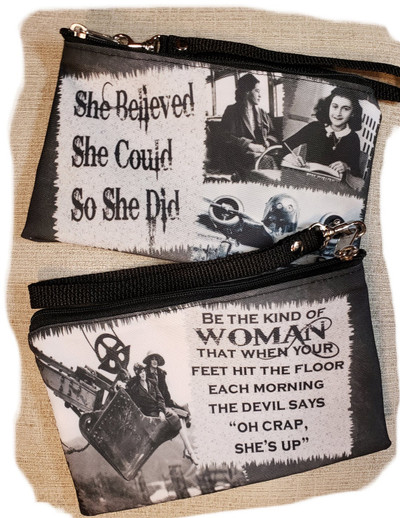 She Believed She Could So She Did  - Wristlet