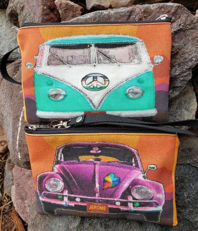 Vintage VW - Wristlet