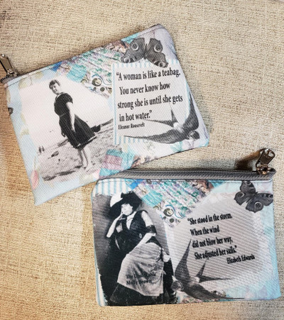 Eleanor Roosevelt Quote - Coin Purse