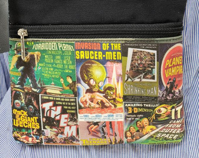 Vintage B Movies - Travel/Casino Bag