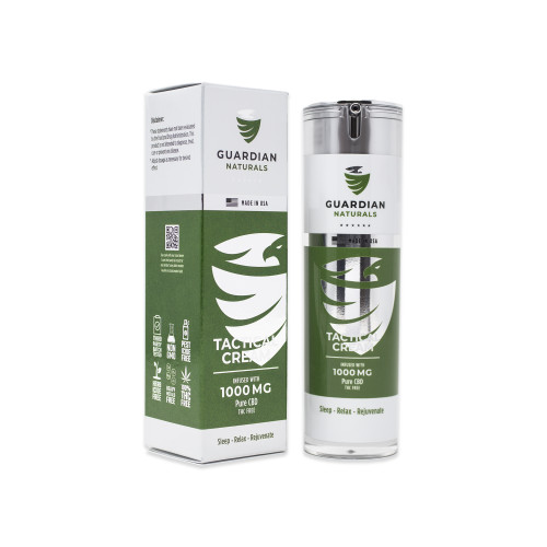 1000mg Tactical CBD Cream Front Image