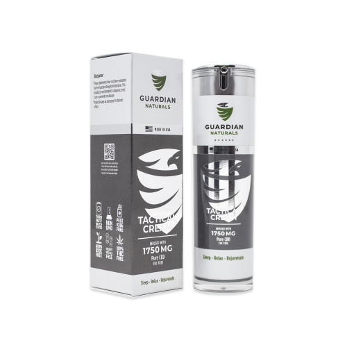 1750mg Tactical CBD Cream Front Image