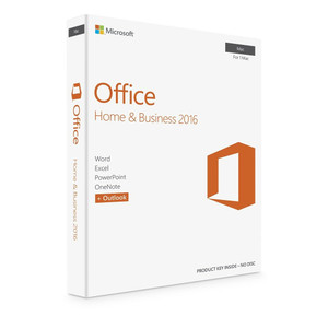* Genuine Microsoft Office 2016 For Apple Mac  Home & Business * **FREE WORLD SHIPPING - ELECTRONICALLY