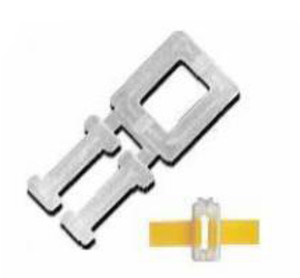 1000 Strong Plastic Buckles / Clips For 12mm Hand Pallet Strapping Banding - For