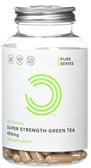 450mg Super Strength Green Tea for Fat Loss - Pack of 90 Capsules