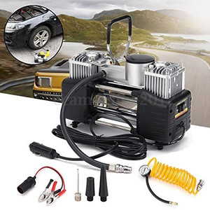 451714 12V Professional Large Volume 4XWD Air Compressor Pump Car Van Inflator