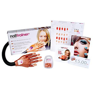 The Nail Trainer® Practice Hand - Multi Language