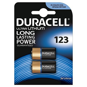 Box of 20 Duracell Ultra Lithium 123 Batteries 3V CR123A DL123A CR17345