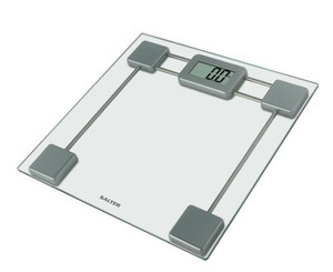 Salter Glass Digital Bathroom Scales– Electronic Body Weighing in kg or st,0.1kg