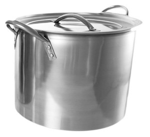 Buckingham Stock Pot with Stainless Steel Lid 26 cm, 11 L