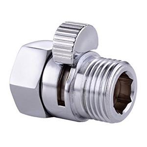 KES K1140B Shower Head Shut-Off Valve Solid Brass with Short Switch, Chrome