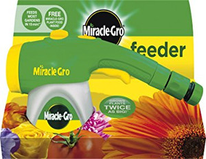 Miracle-Gro Feeder filled with All Purpose Soluble Plant Food