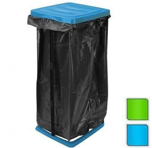60L Rubbish Bag Refuse Sack Bin Liner Waste Disposal Garbage Bag Stand Holder