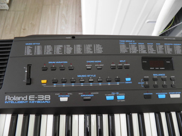 For Sale Roland E-38 E38 intelligent Keyboard MIDI world shipping