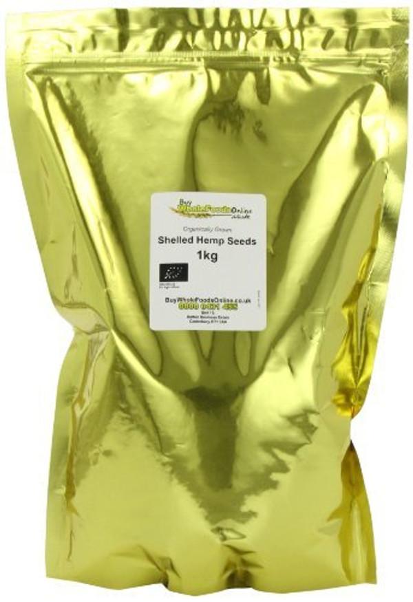 Buy Whole Foods Organic Shelled Hemp Seeds 1 kg