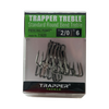 Trapper Tackle 2/0 Standard Round Bend Treble Hooks