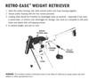 Cannon Retro-Ease Weight Retriever