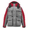 Striker Ice - Men's HardWater Jacket - Gray / Red