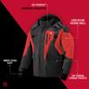 Striker Ice - Youth Predator Jacket - Black / Red