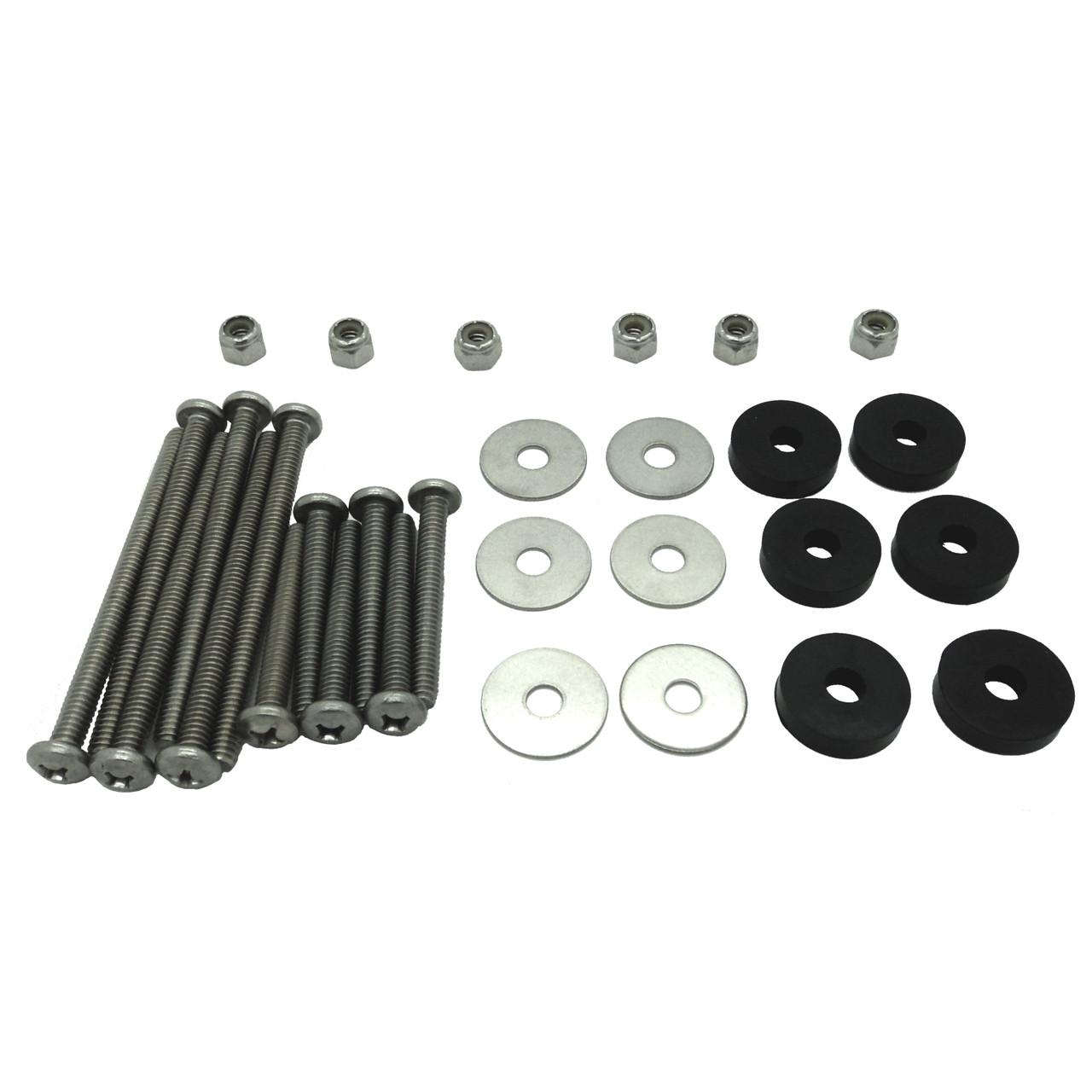 Minn Kota Trolling Motors >> Minn Kota Trolling Motor Universal Stainless Steel Mounting Kit