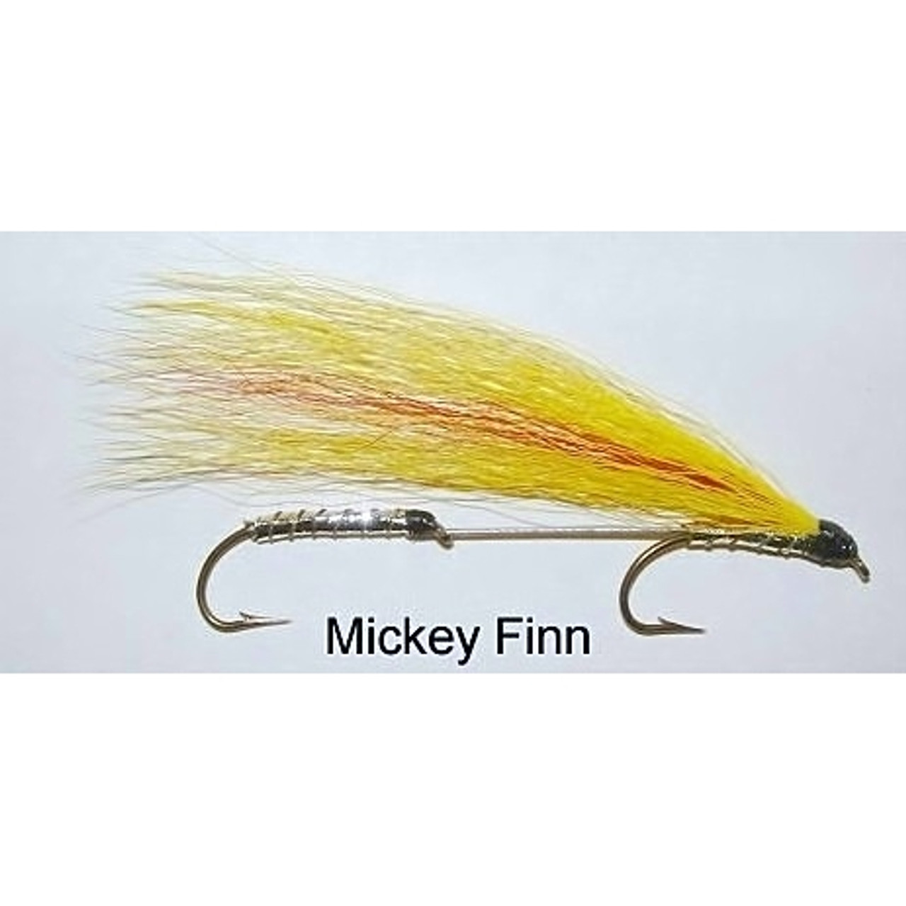 8 x size 10 mickey finn lure flies