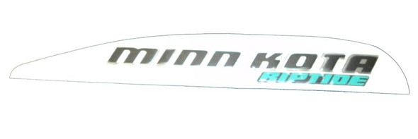 Minn Kota Trolling Motor Part - DECAL,MOTOR REST,RIPTIDE,LEFT - 2325643