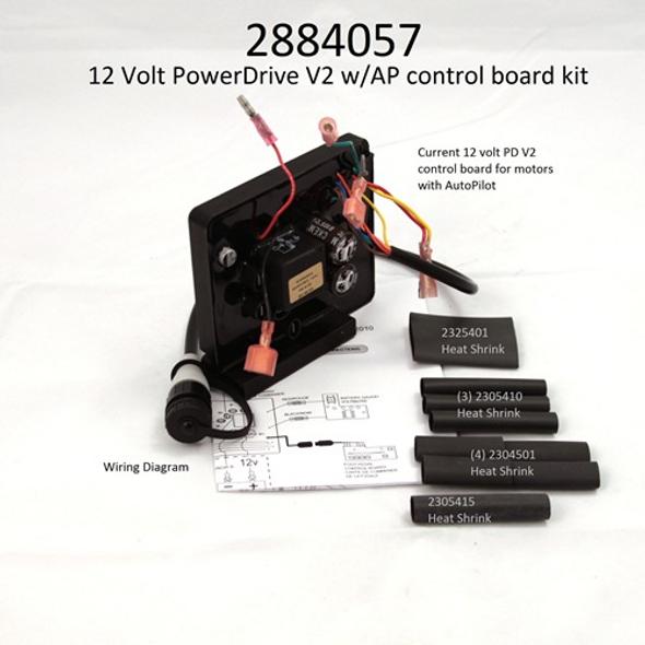 Minn Kota Trolling Motor Part - CTRL BRD-12V PD W/AP W/SHRINK - 2884057
