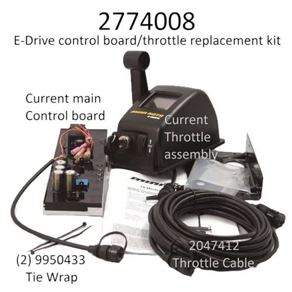 Minn Kota Trolling Motor Part - CABLE - THROTTLE - 2041401 (NEW 2774008)