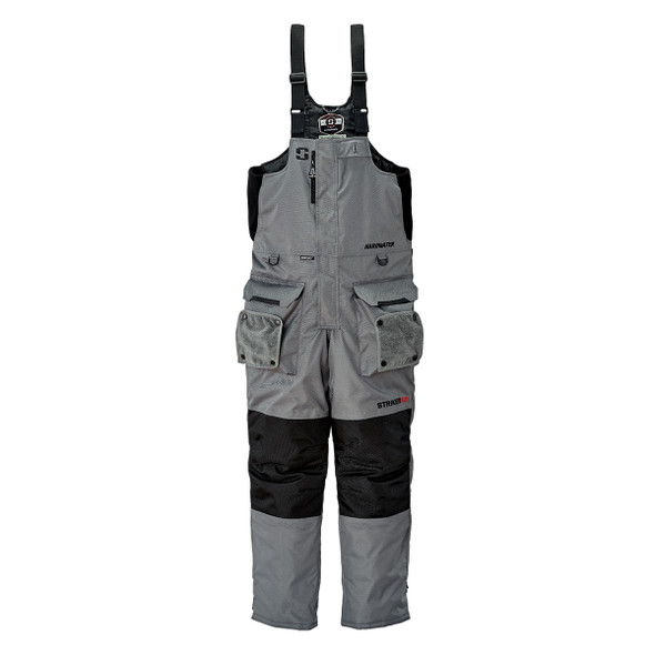 Striker Ice - Men's Hardwater Bibs - Gray Black