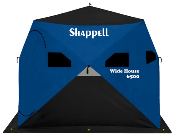 Shappell Wide House 6500 Wide Body Hub Shelters (WH6500)