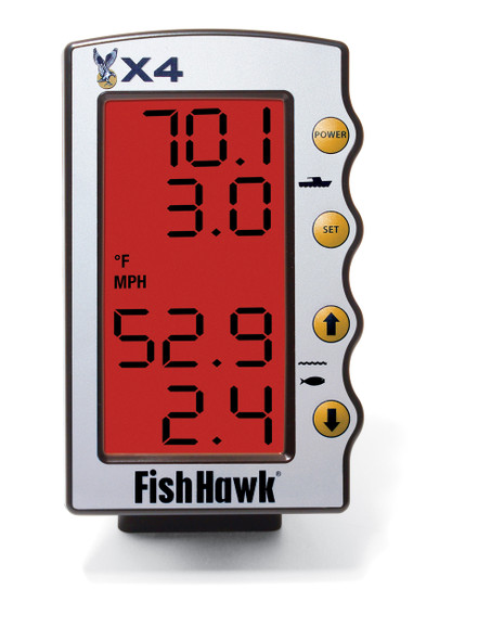 Fish Hawk X4 LCD Display Replacement - X4
