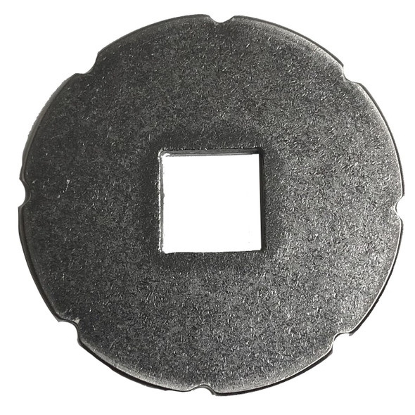 Cannon Downrigger Part 3391992A - PLATE SHAFT CLUTCH BRAKE SQUARE HOLE - AFTERMARKET