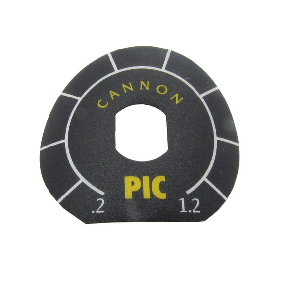 Cannon Downrigger Part 3395703 DECAL - PIC KNOB DIAL (3395703)